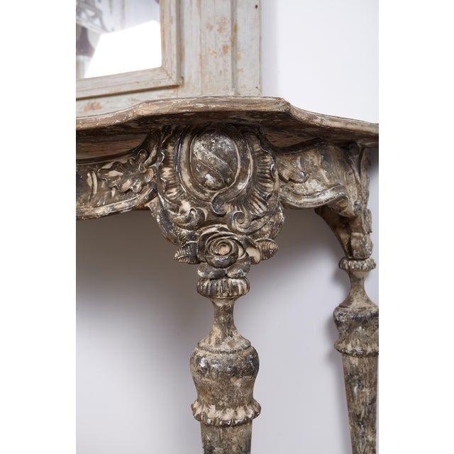18th Century Italian Baroque Console For Sale - Image 10 of 10