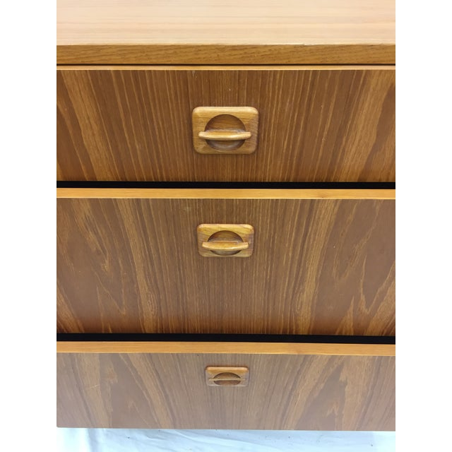 Vintage Danish Modern Chest For Sale In Raleigh - Image 6 of 9