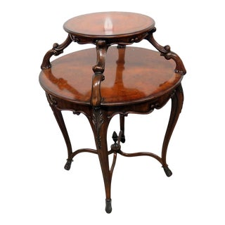 Maitland Smith Regency Style Dessert Table For Sale