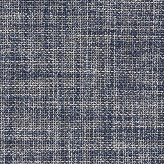 Schumacher Morrow Fabric in Indigo For Sale