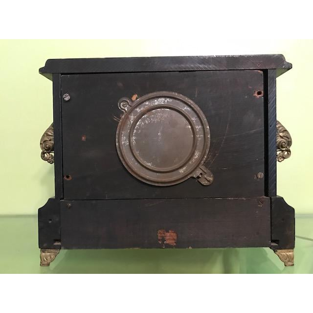 1911 Mantle Clock by Wm. L. Gilbert Clock Co. For Sale In Kansas City - Image 6 of 8