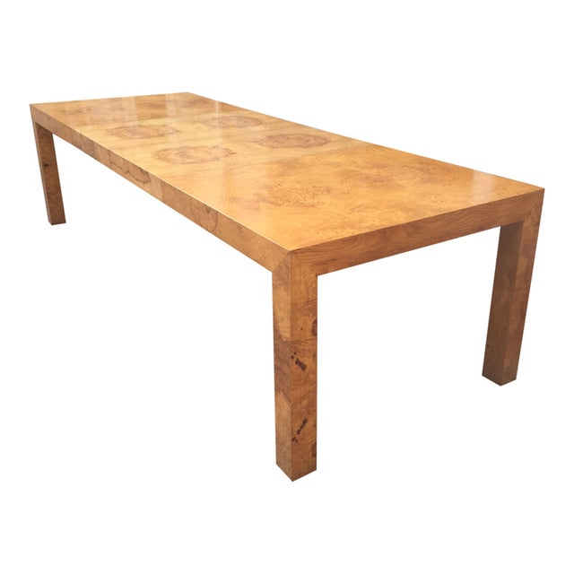 Milo Baughman Burl Parsons Table For Sale - Image 10 of 10