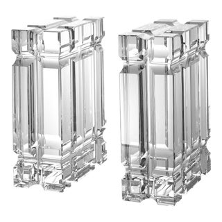 Glass Bookends (Set of 2) | Eichholtz Linea For Sale