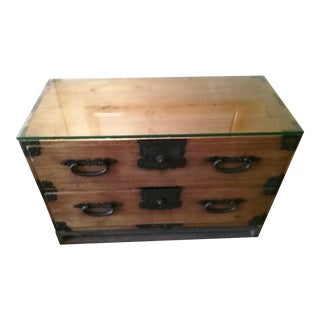 Tansu Japanese Chest For Sale