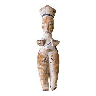 Vintage Ibibo Female Wood Doll For Sale