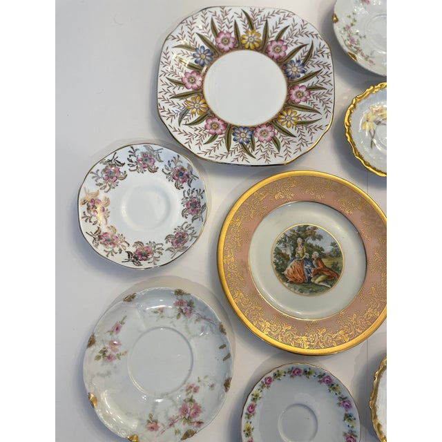 Mix of pink and gold Limoges from France, Bavaria Germany fine China, English bone China Brands include Haviland, S&M...