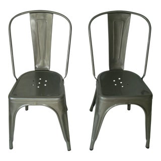 Tolix Marais A Chairs - A Pair
