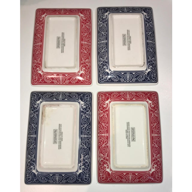 These would make a fabulous holiday gift! A vintage set of four Restoration Hardware candy dishes/trays with a playing...