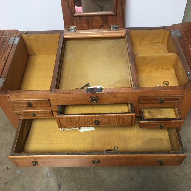 Late 18th Century 18th Century Louis XVI Dressing Table, Coiffeuse For Sale - Image 5 of 13