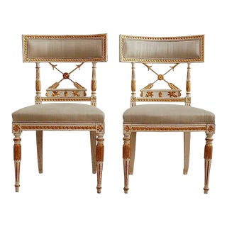 Ephraim Staahl Late Gustavian Chairs- A Pair For Sale
