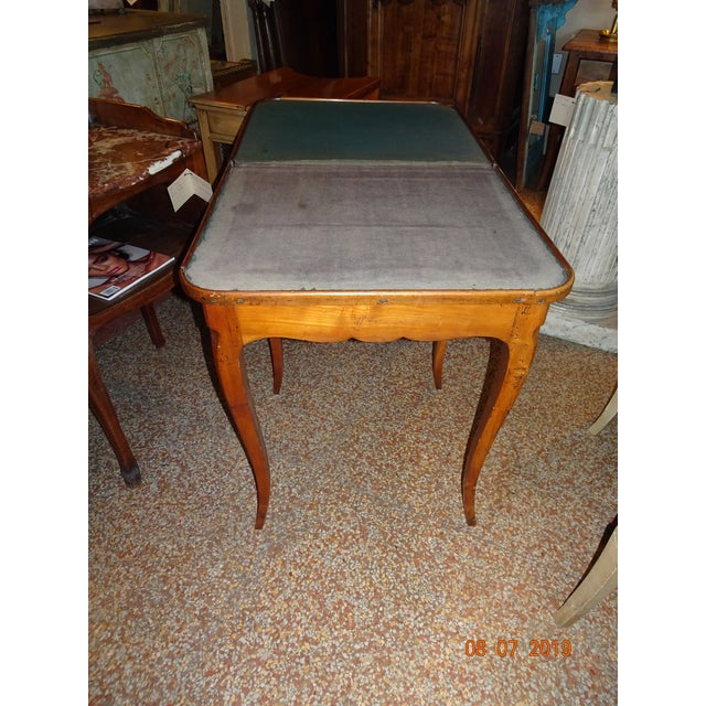 18th Century French Game Table For Sale - Image 4 of 9
