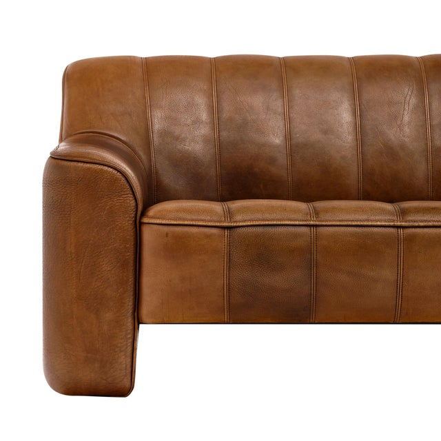 Leather Vintage Sofa by De Sede For Sale - Image 7 of 10