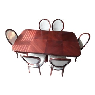 Alf Group Solid Wood Dining Set For Sale