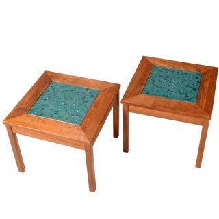 John Keal for Brown Saltman Constellation End Tables For Sale