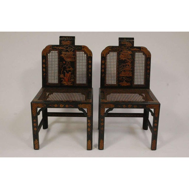 Chinoiserie Seating Suite For Sale - Image 10 of 10