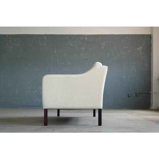 Børge Mogensen Style Three-Seat Sofa Model 2423 by Mogens Hansen - Image 5 of 9