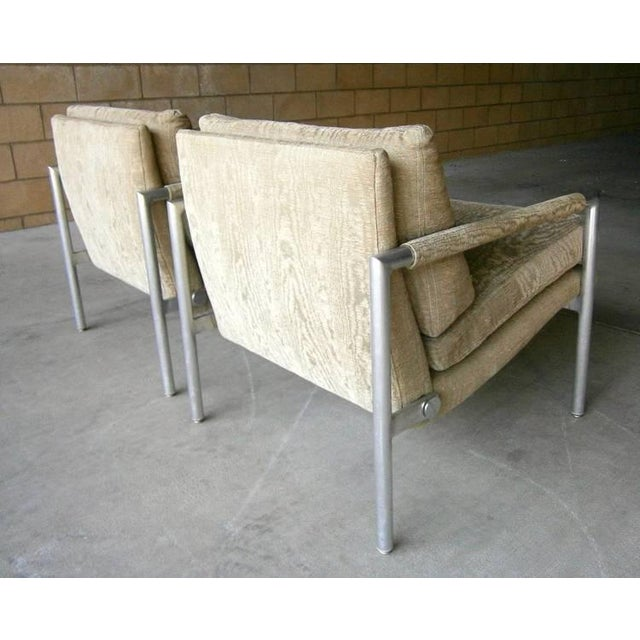 1960s Aluminum Club Chairs - A Pair - Image 7 of 7