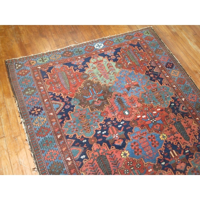 Antique Tribal Persian Rug - 5'2'' x 7'2'' - Image 5 of 5