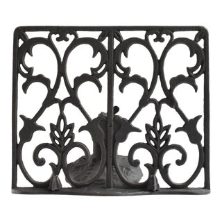 Cast Iron Book Stand For Sale