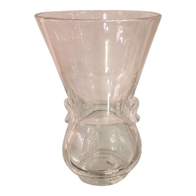 Elegant Signed Steuben Crystal Vase Chairish