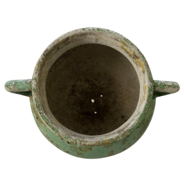 1950s Green French Cement Marmite, Circa 1950 For Sale - Image 5 of 6