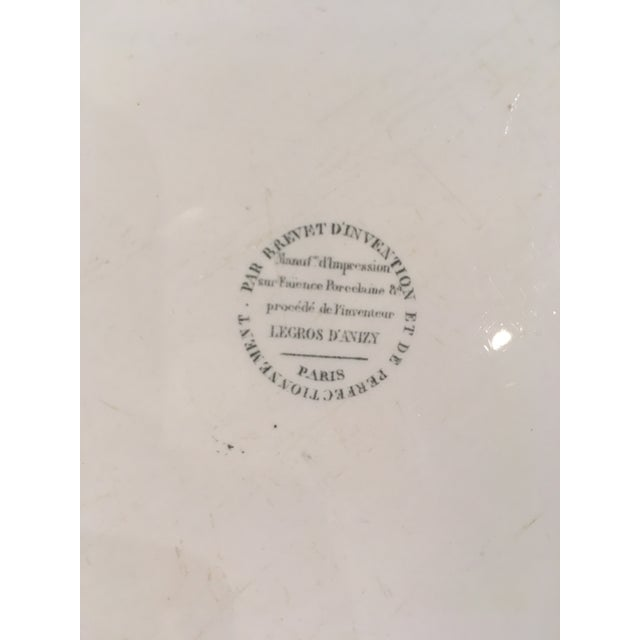 Collection of Creamware Plates and Serving Pieces - 10 Pieces For Sale In Boston - Image 6 of 8
