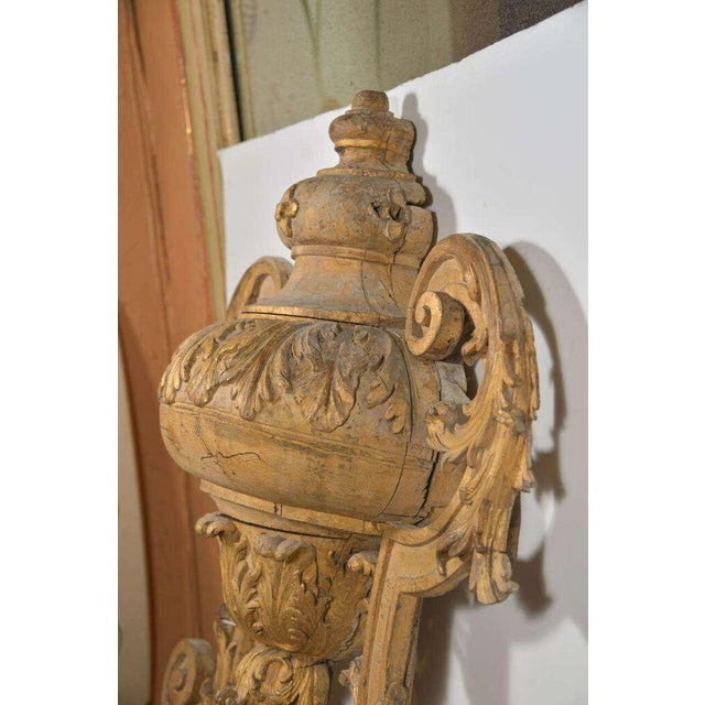 Gold Large 18th Century Louis XVI Carved Urn For Sale - Image 8 of 9