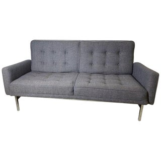 1960s Vintage Florence Knoll Two-Seat Sofa For Sale