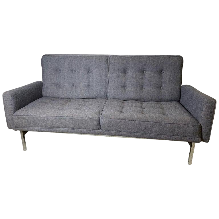 1960s Vintage Florence Knoll Two Seat Sofa