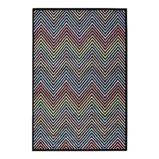 Flawless Multicolor Chevron Rug 5'3''x 7'7''