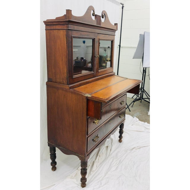 Antique Secretary Cabinet For Sale In Raleigh - Image 6 of 13
