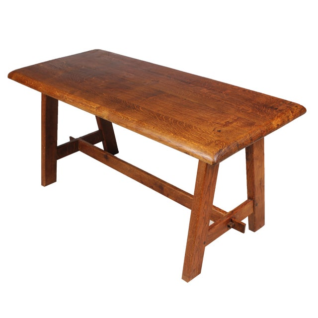 Arts & Crafts-Style Coffee Table - Image 2 of 5
