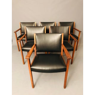 Mid-Century Gunlock Dining Chairs- Set of 4 Preview