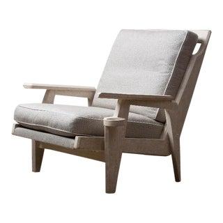 Sandyland Lounge Chair in Natural Oak For Sale
