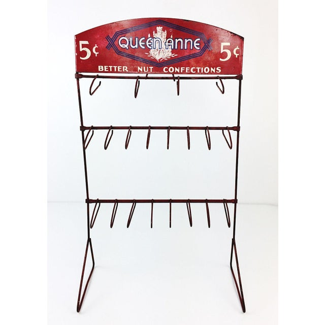 Vintage Queen Anne Better Nut Confections Display Rack - Image 2 of 8