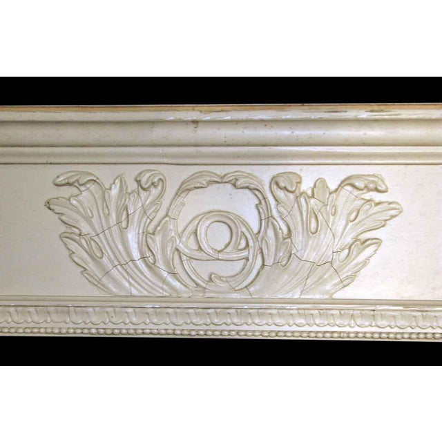 Salvaged White Window Molding Headers - A Pair - Image 7 of 7
