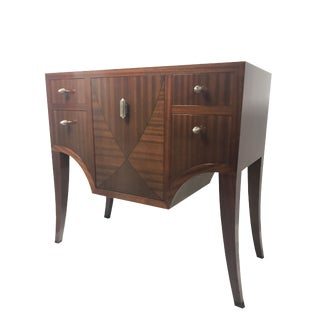 Art Deco Polidor Symphony Collection Hall Chest For Sale