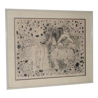 """Pablo Picasso (1881-1973) """"L`Ecuyère"""" Lithograph C.1960 For Sale"""