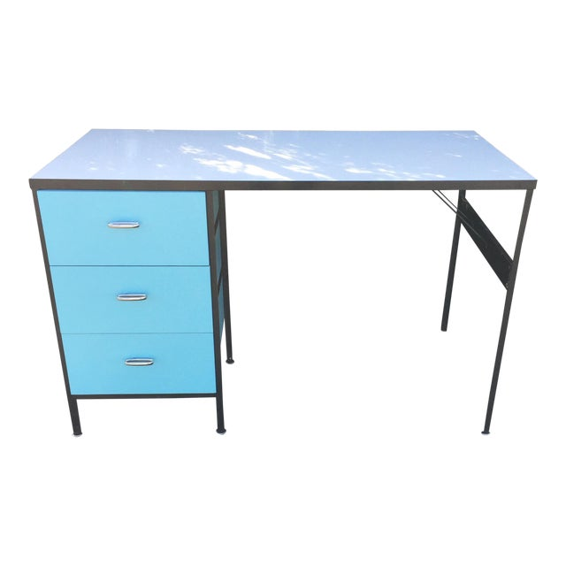 George Nelson Steel Frame Desk - Image 1 of 9