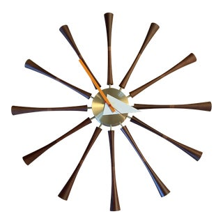 George Nelson for Vitra Spindle Clock For Sale