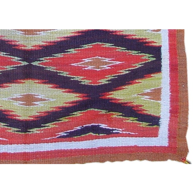 Navajo Navajo Rug For Sale - Image 3 of 4