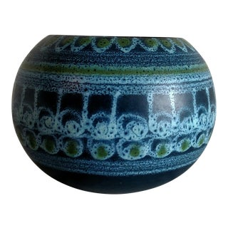 Spanish Faianca Traditional Ceramic Bowl For Sale