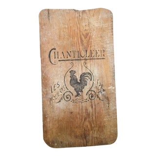 Antique Rustic Bread Board For Sale
