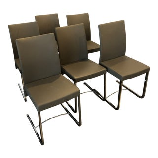 Roche Bobois Amplitude Dining Room Chairs - Set of 6