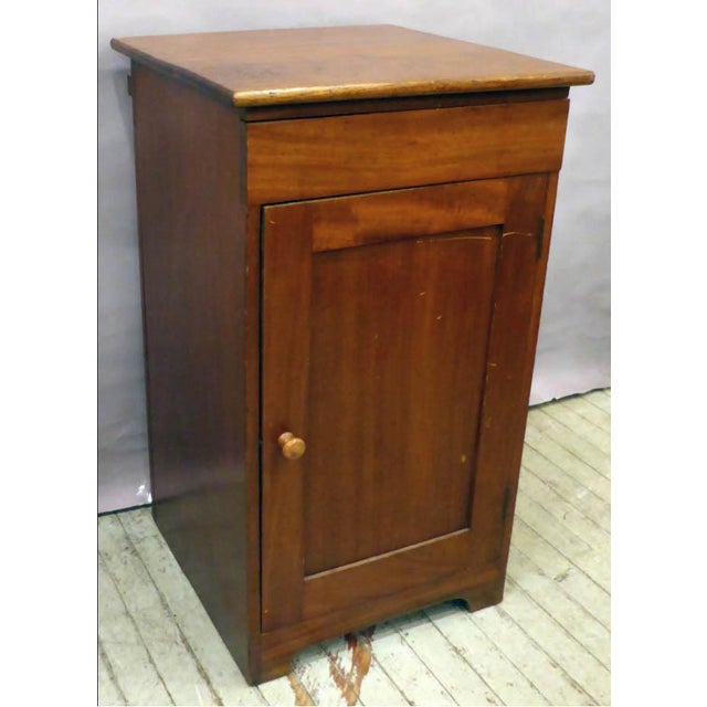 English Traditional English George V Mahogany Cabinet With Enameled Nautical Sink For Sale - Image 3 of 7
