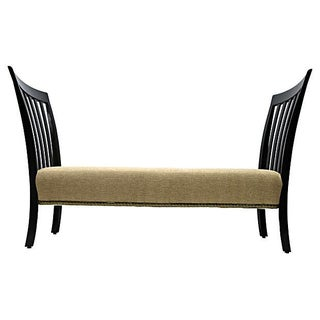 Mid-century Upholstered Bench For Sale