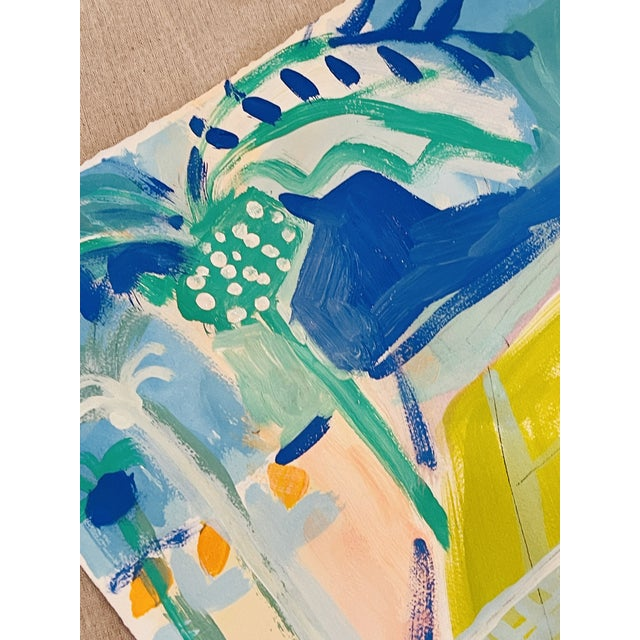 An original painting on paper inspired by Sally's love for the game of tennis. These pieces are highly collectible and a...