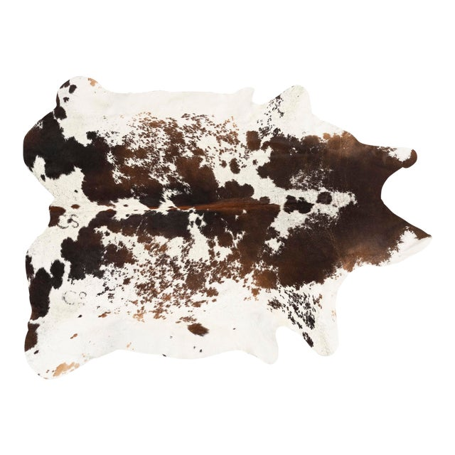 Spotted Genuine Brazilian Cowhide - 6′10″ × 7′2″ For Sale