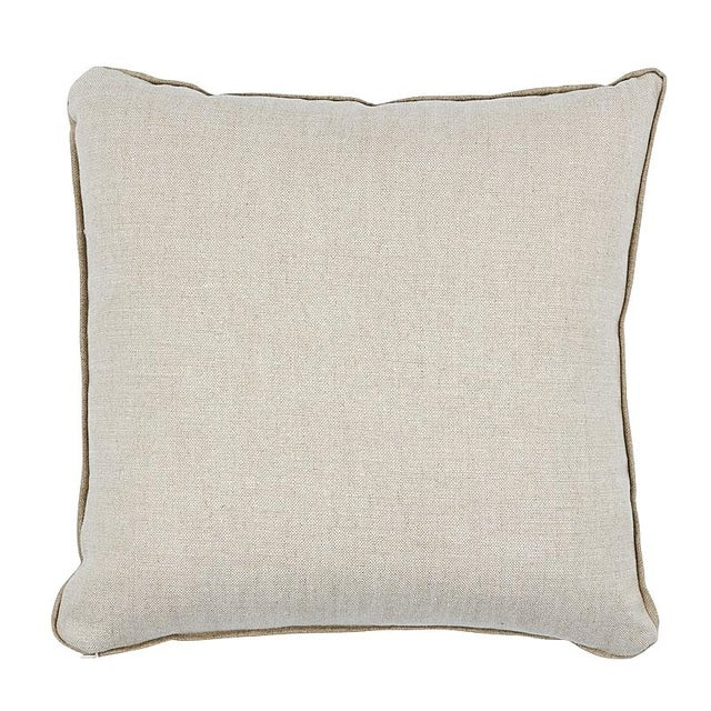 This pillow features Gainsborough Velvet (item# 42747, GAINSBOROUGH VELVET FABRIC) in three hues with a flange finish. A...