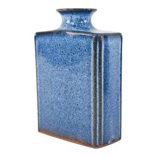 Askel Denmark Danish Blue Vase For Sale